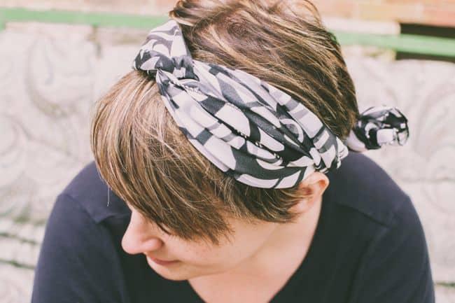 Turban scarf tutorial   Hello Glow