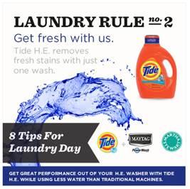 Tide Laundry Rule #2