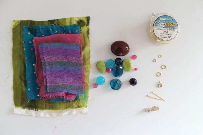 Silk DIY Bracelet Materials | Hello Glow