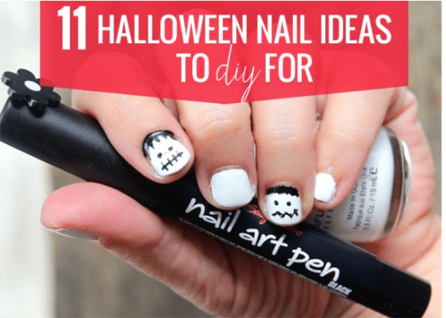 11 Halloween Nails to DIY for - Hello Glow