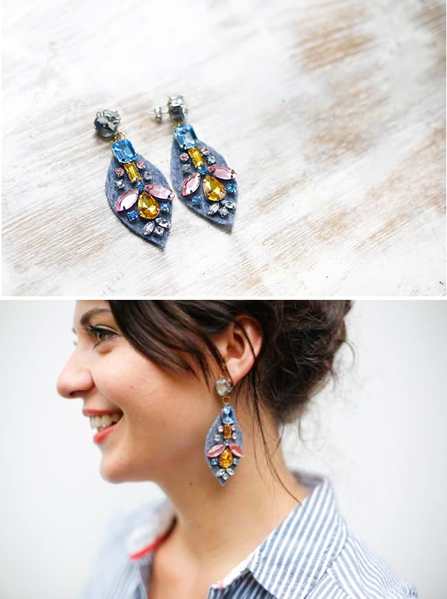 DIY J. Crew Earrings | Hello Glow