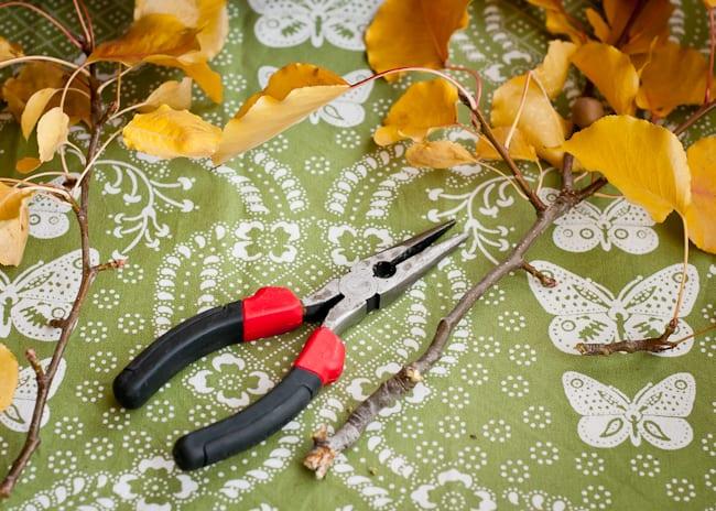 thanksgiving centerpiece - cutters