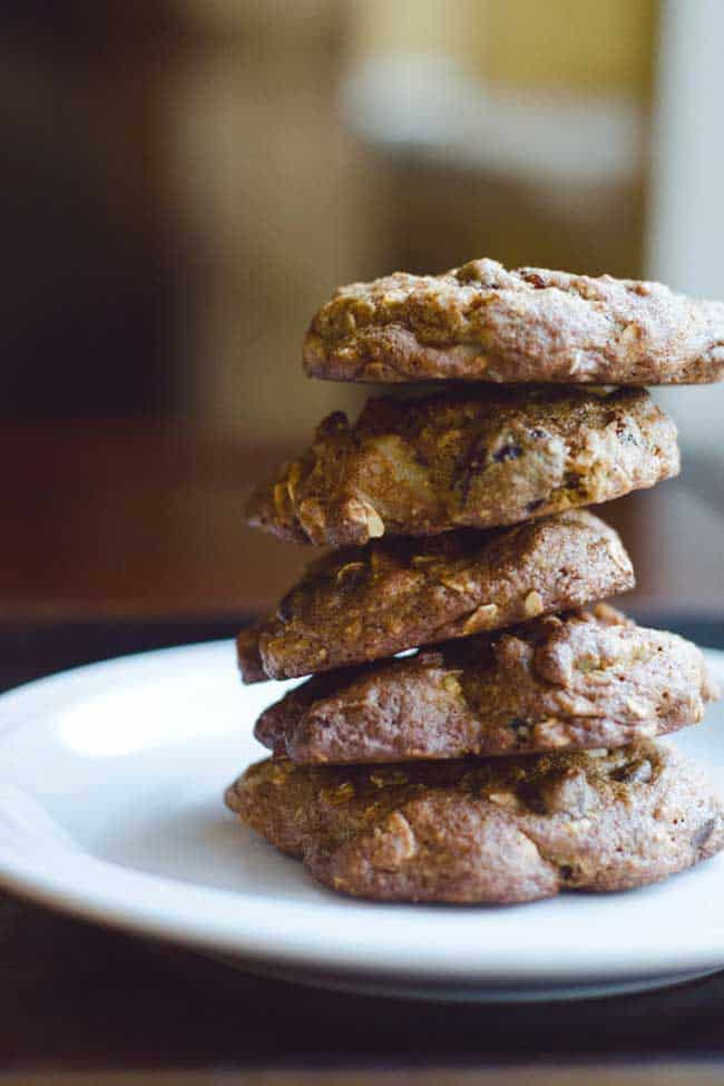 Totally Loaded Oatmeal Cookies