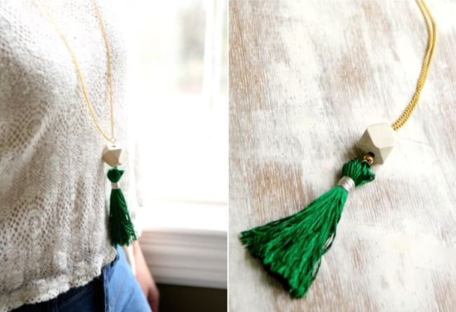 Tassel necklace | Hello Glow