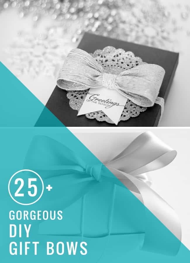25 DIY Gift Bows | HelloGlow.co