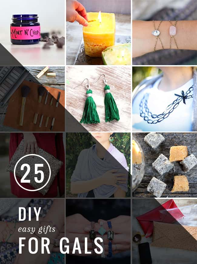 25 Easy DIY Gifts for Gals | Hello Glow