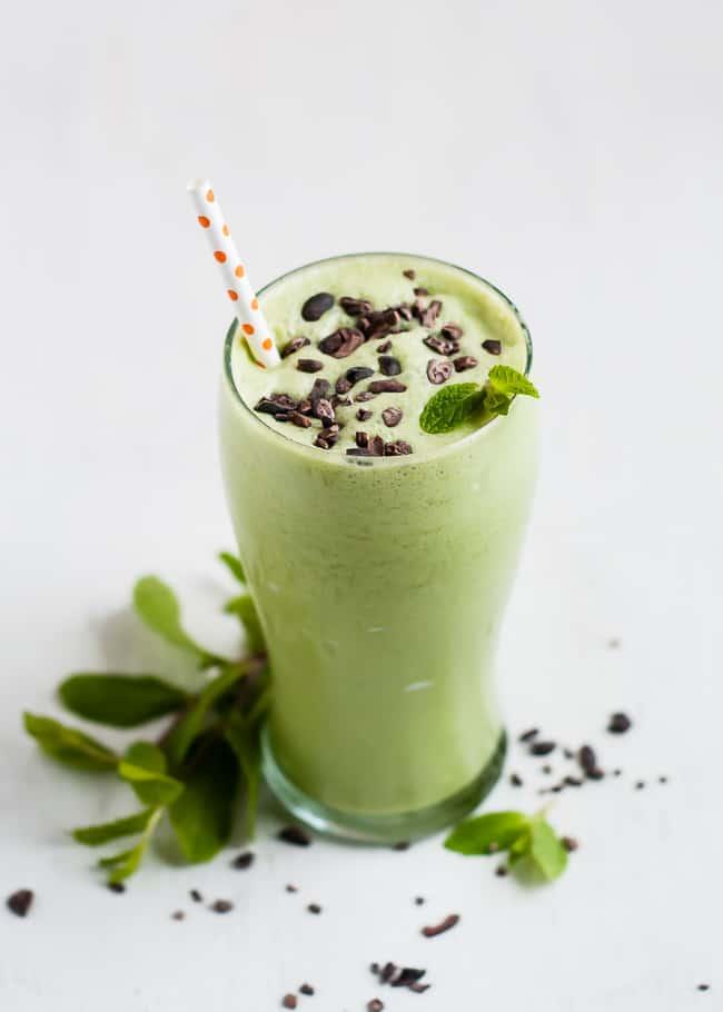 copycat healthy shamrock shake_