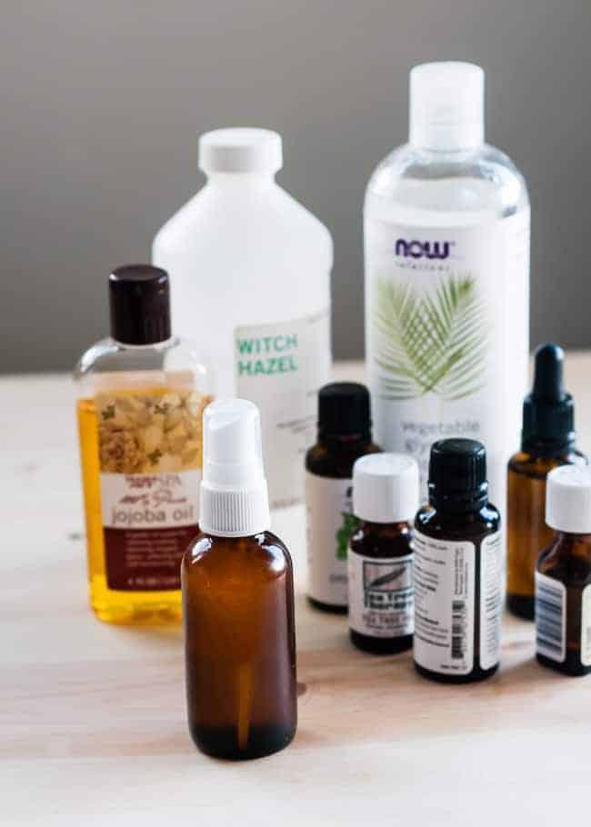 DIY natural insect repellant