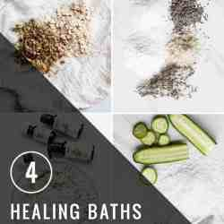 4 Healing Baths for Summer