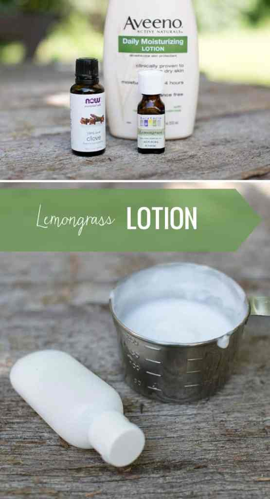Lemongrass lotion