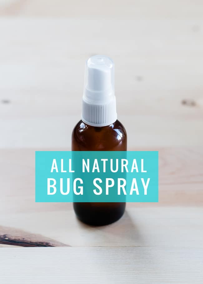 Essential Oil Bug Spray