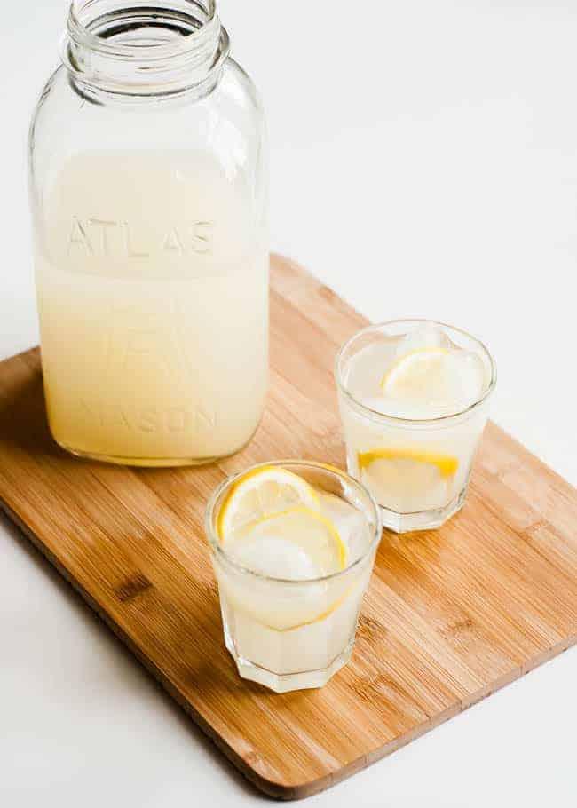 Lacto fermented lemonade