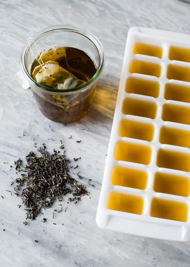 Green Tea Ice Cube | HelloGlow.co