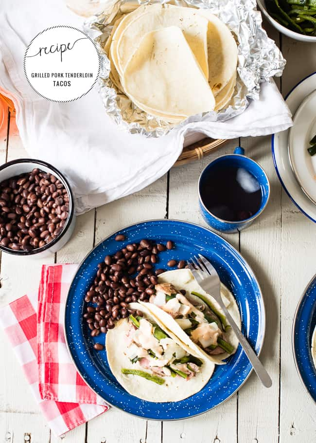 Healthy Grilled Tacos | HelloGlow.co