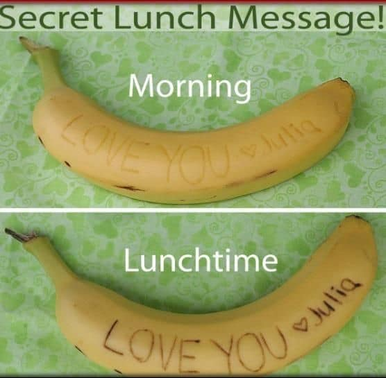 Secret Fruit Messages