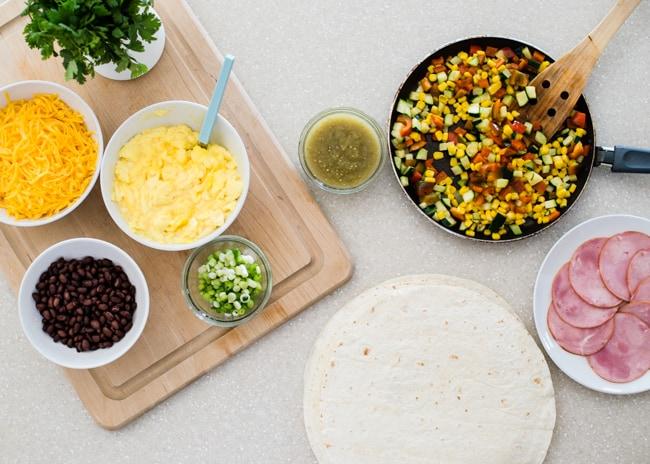 Freezer Breakfast Burritos | HelloGlow.co
