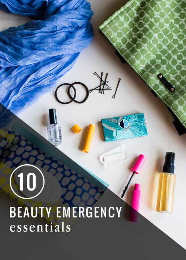 10 Beauty Emergency Essentials | HelloGlow.co