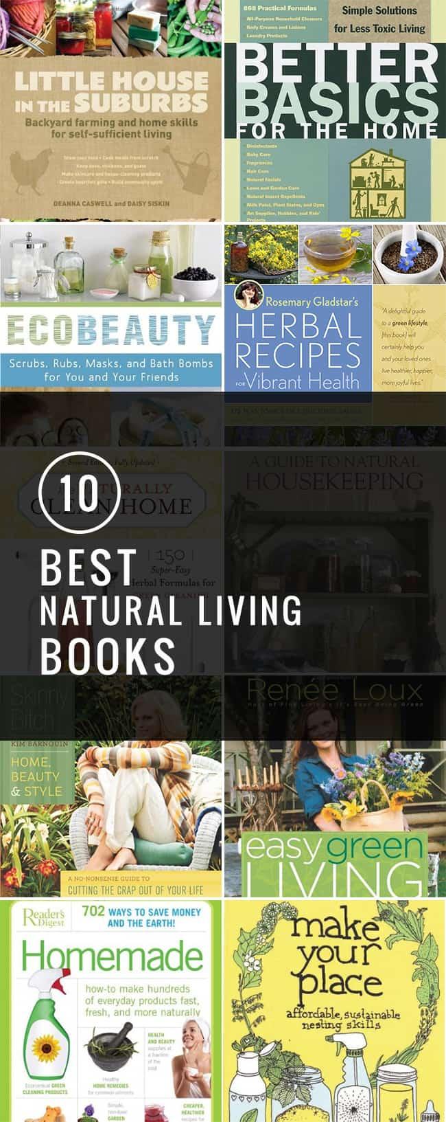 10 Favorite Natural Living Books | Hello Glow