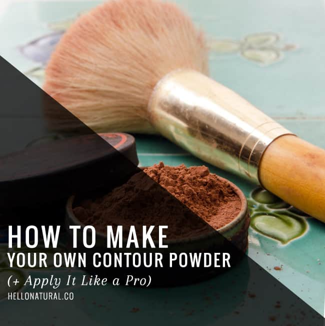 How to Make Your Own Contour Powder | HelloGlow.co