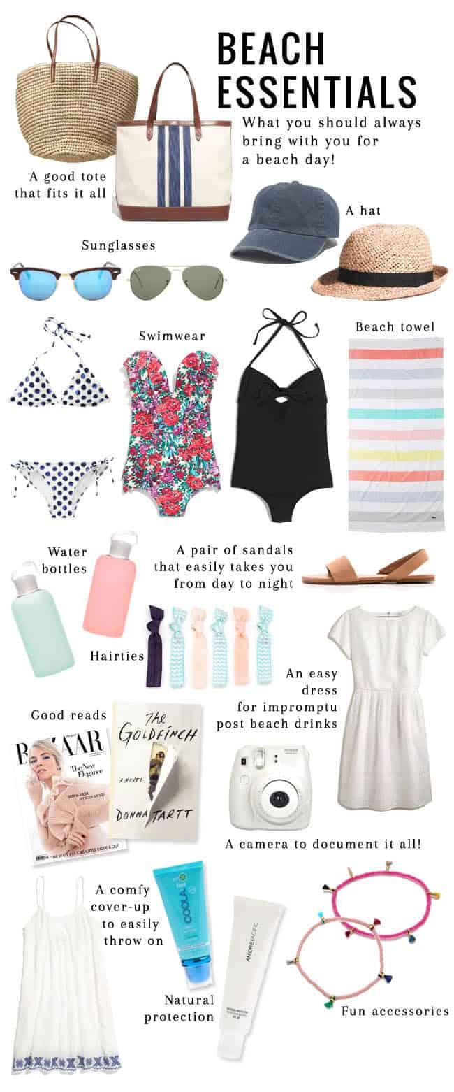 14 Essential Beach Bag Items | HelloGlow.co