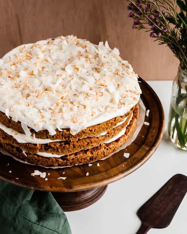 Light Carrot Cake Recipe   HelloGlow.co