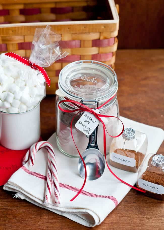 Homemade Gift Hot Cocoa Mix