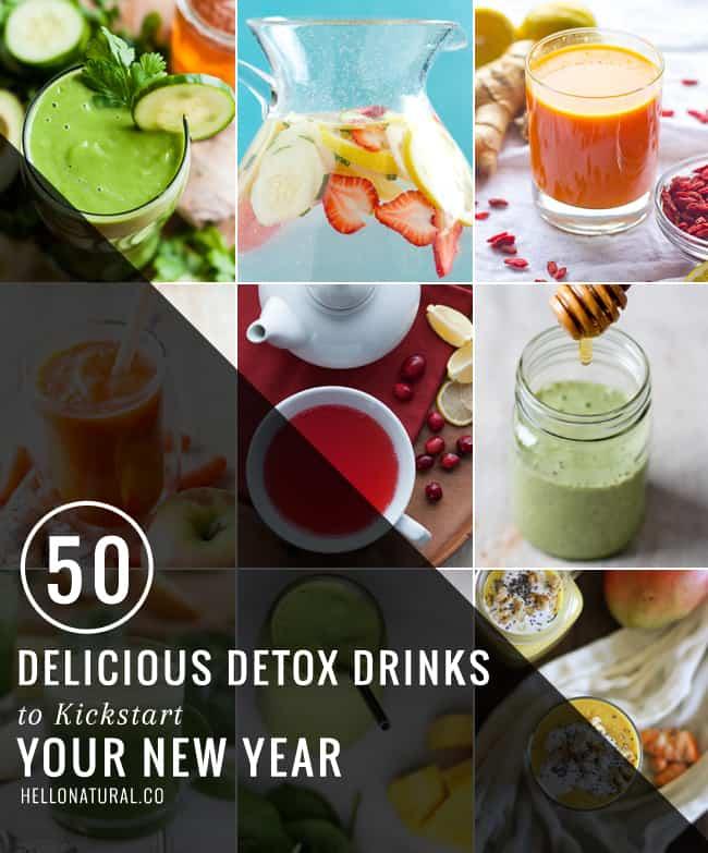 50 Detox Drinks to Kickstart Your New Year