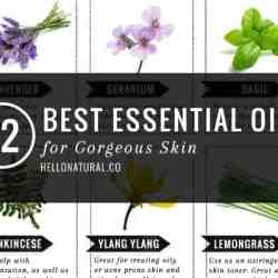 12 Best Essential Oils for Gorgeous Skin