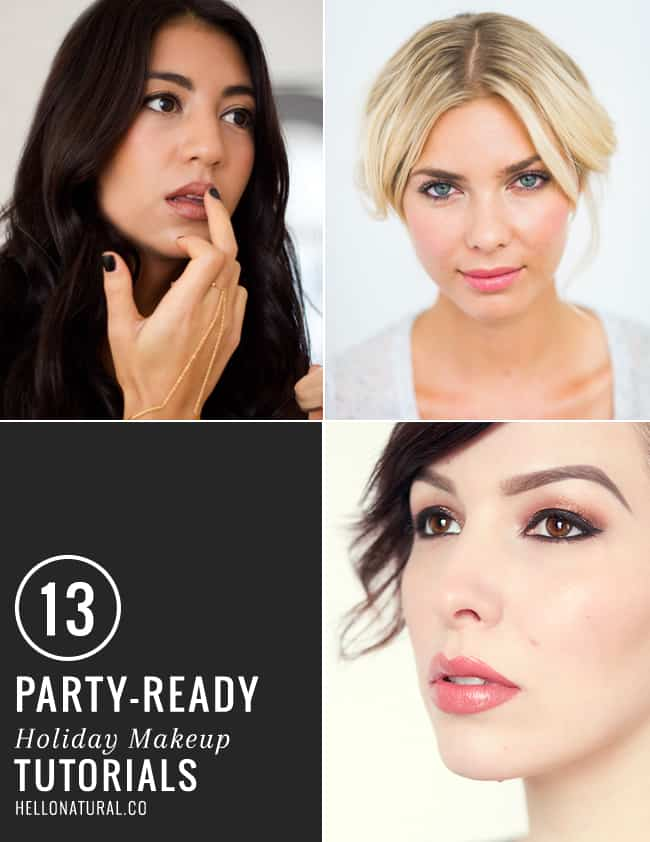 13 Holiday Makeup Tutorials | HelloGlow.co
