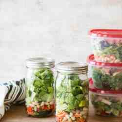 How to Pack a Week's Worth of Make-Ahead Salads (+ 5 Recipes to Get You Started!)