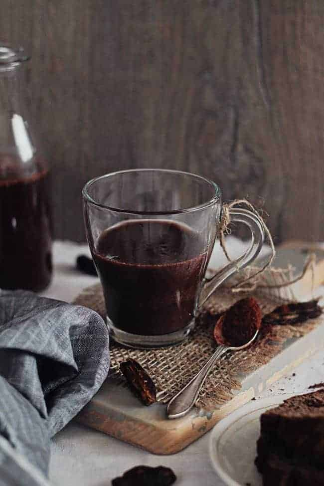 Antioxidant-Rich Vegan Chocolate Shake with Raw Cacao | HelloGlow.co
