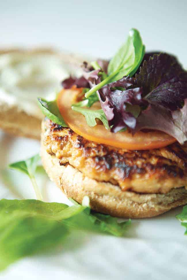 Hoisin Salmon Burger Recipe