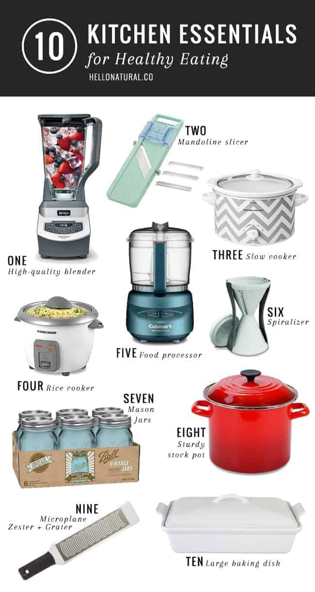 10 Best Healthy Kitchen Tools