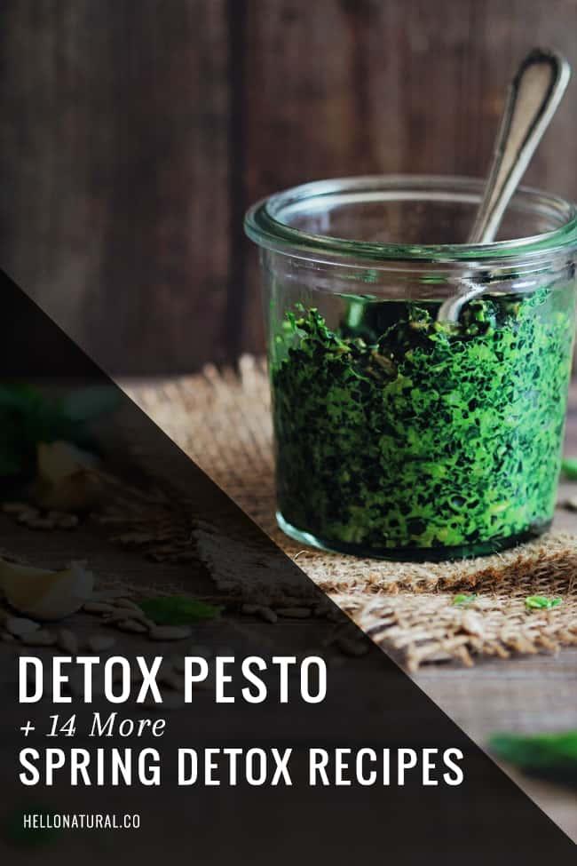 Detox-Pesto