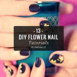 Bring on May Flowers with 13 DIY Flower Nail Tutorials