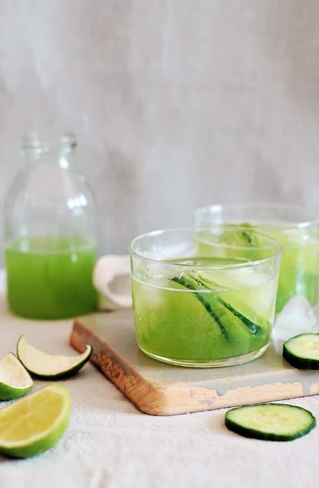 Low Cal Cocktail: Margarita With Cucumber Juice