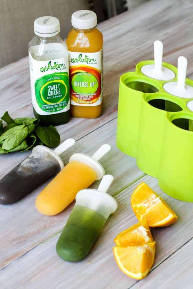 Evolution Fresh Juice Pops and $50 Starbucks Giveaway
