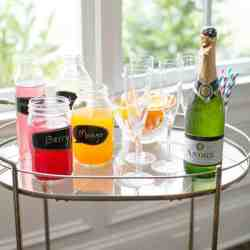 How To Make a Fresh Juice Mimosa Bar