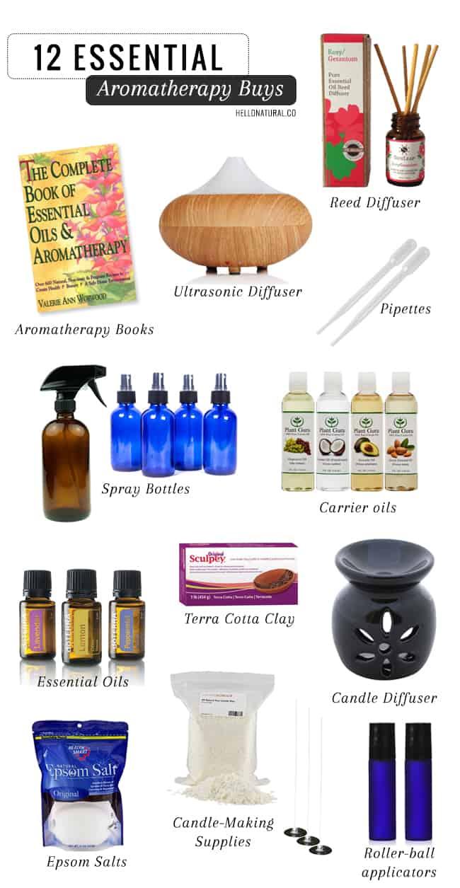 12 Essential Aromatherapy Buys