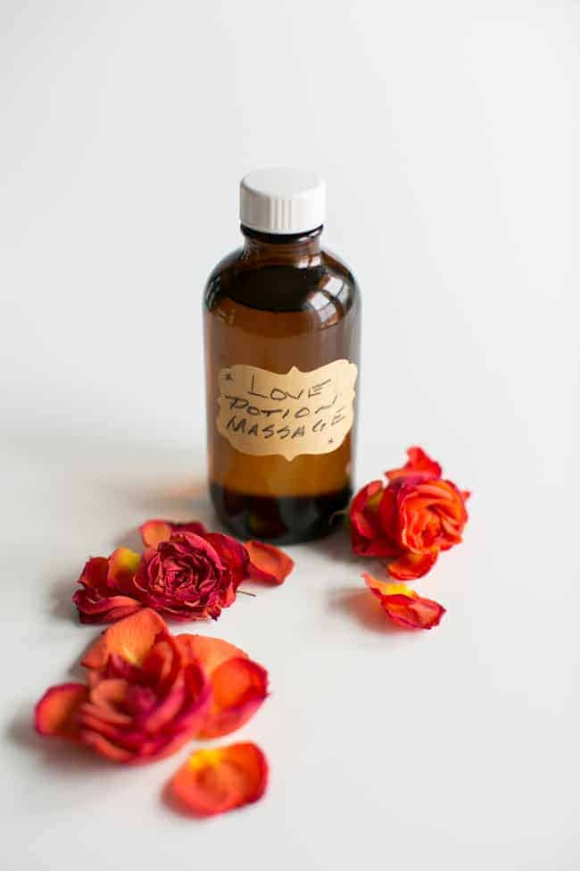 Love Potion Massage Oil + 5 More Essential Oil Blends