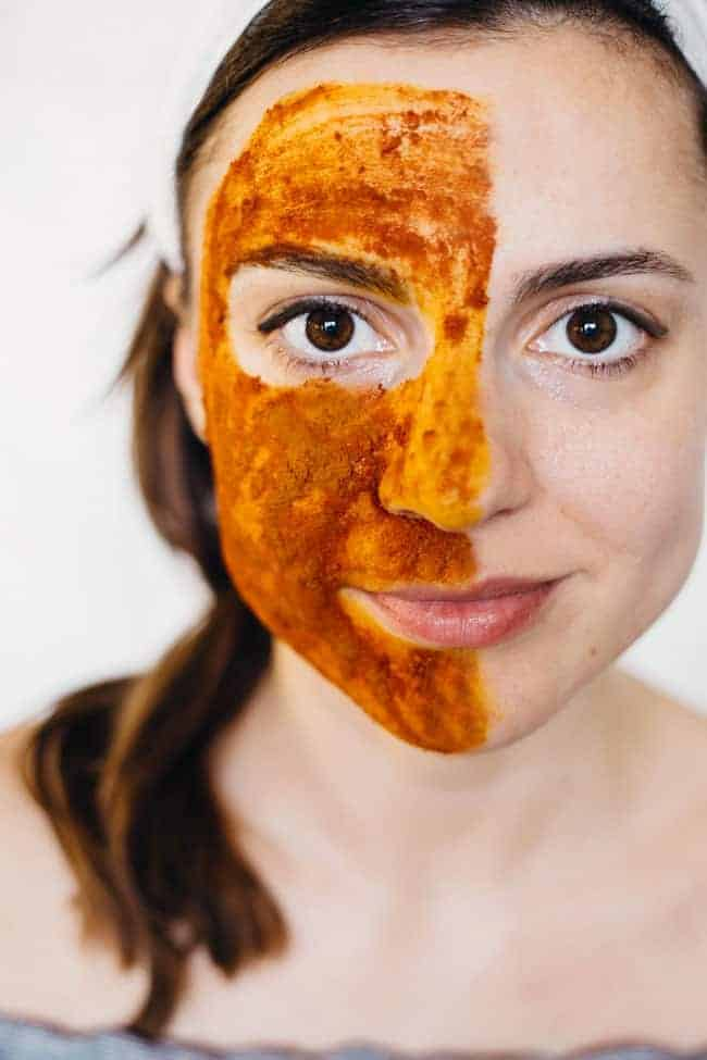 Turmeric for Face - Glowing Skin Scrub