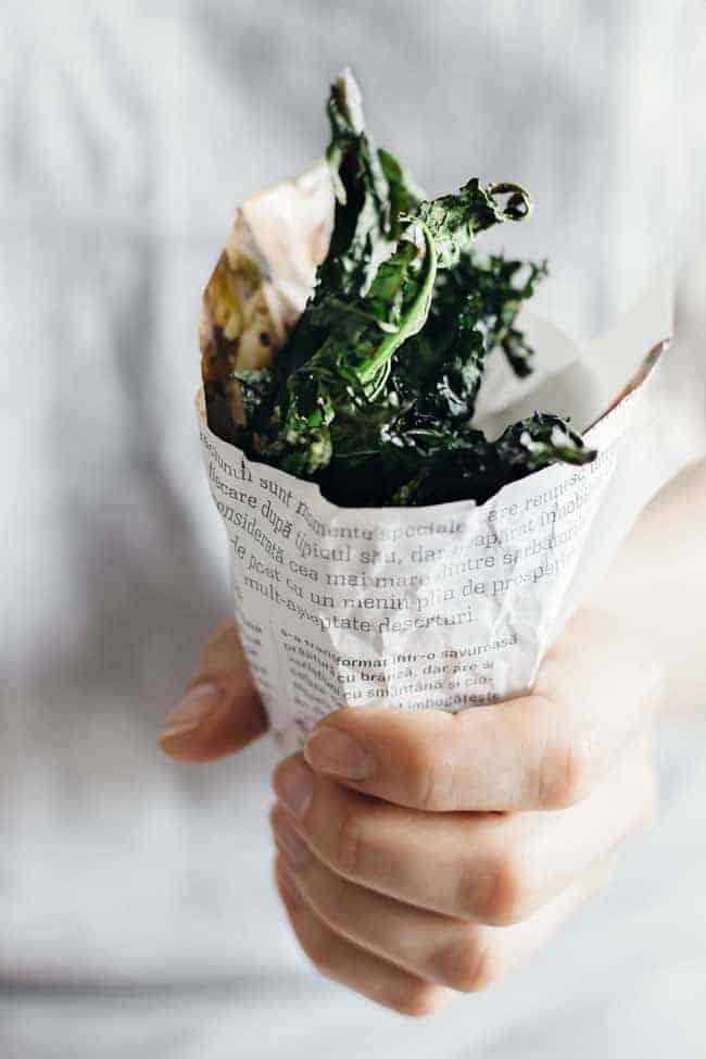 Flat Belly Kale Chips | 24 Hour Detox