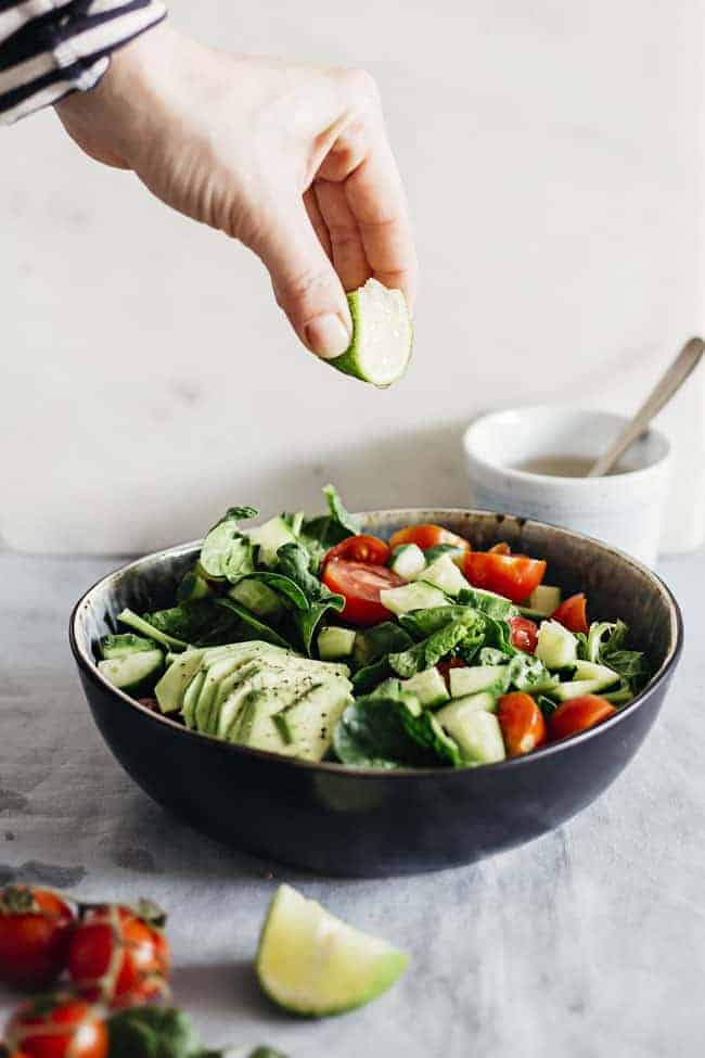 Avocado Salad | 24 Hour Detox