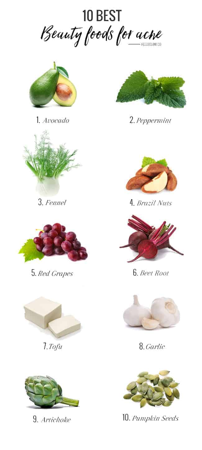10 Best Beauty Foods for Acne