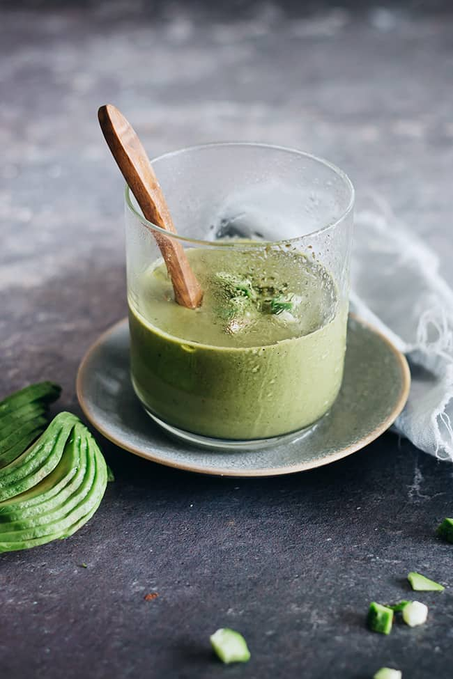 Chilled Cucumber and Avocado Soup | 7 Ways to Eat An Avocado
