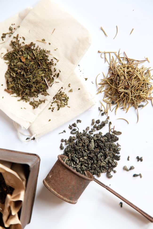 How to Make Your Own Tea Blends