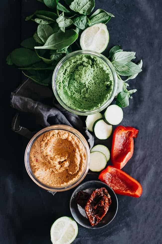 2 Irresistible Veggie Dips For Healthy Snacking
