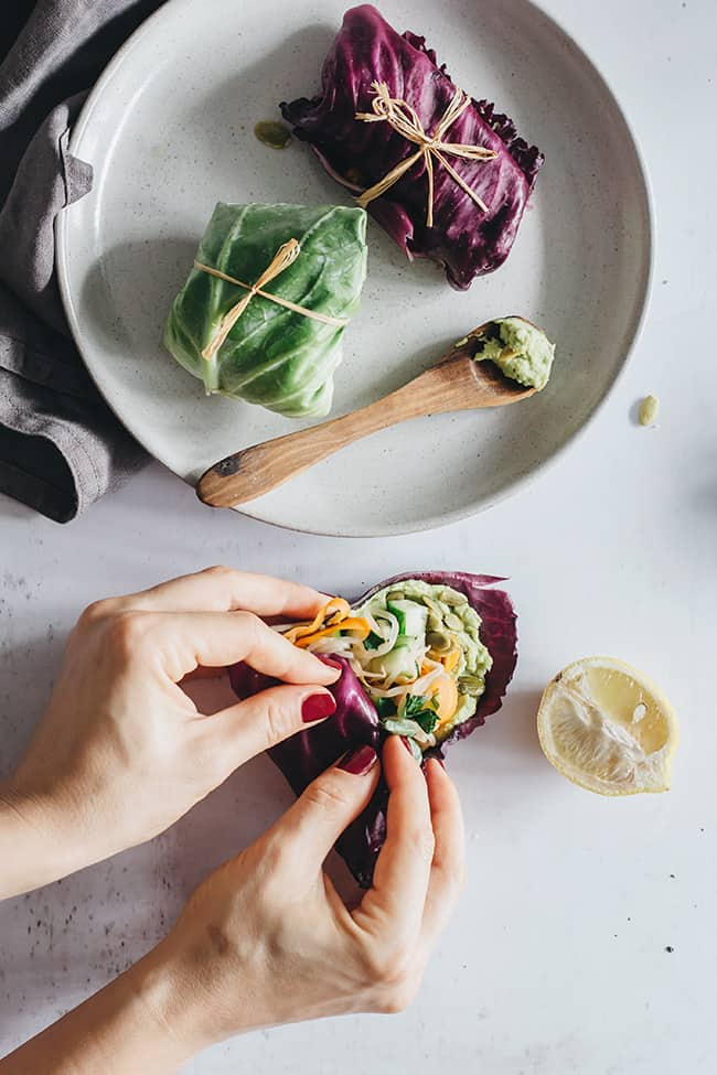 Detox Taco Wraps with Pumpkin Seed Pâté