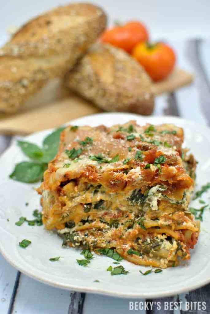 Lasagna with Veggies