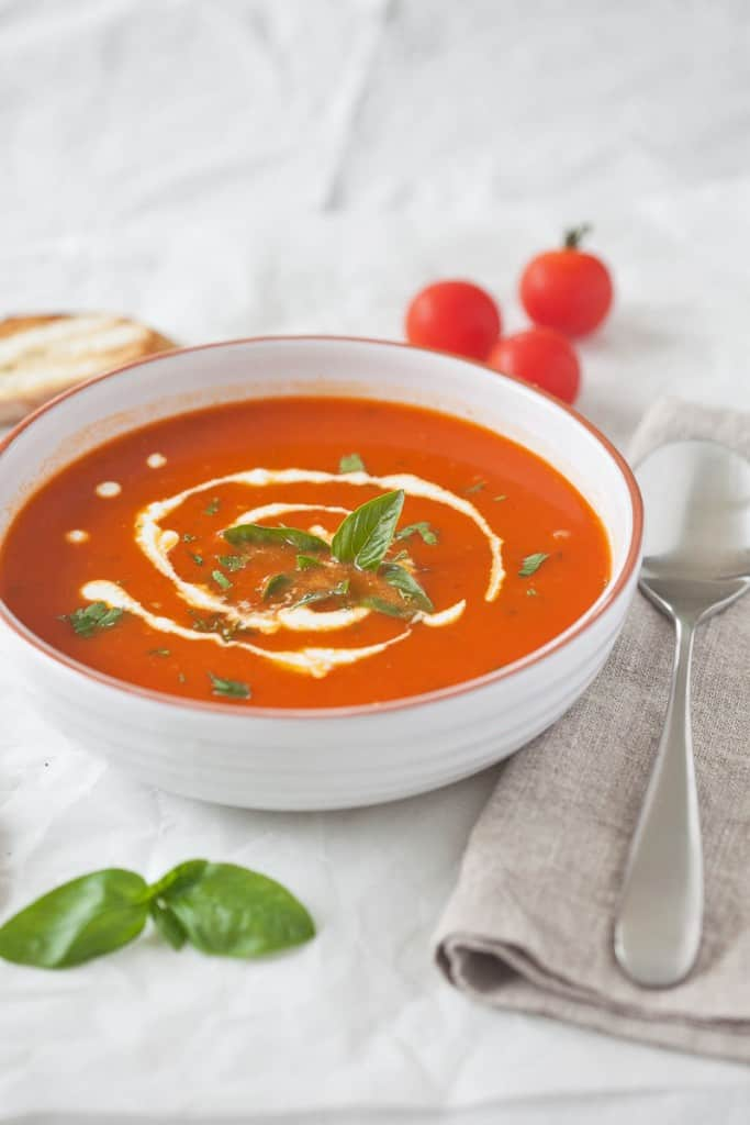 Tomato Soup by Vibrant Plate
